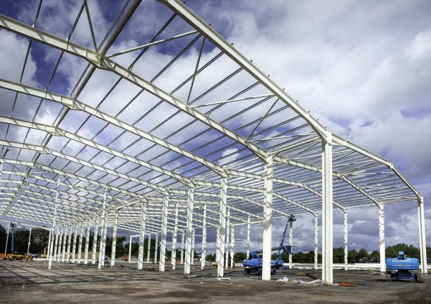 New warehouse and distribution centre taking shape for Epwin Window Systems