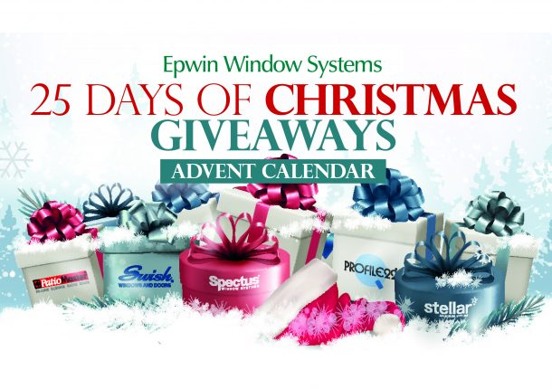 Epwin Window Systems is bringing some Christmas cheer to the industry with the return of its popular annual Advent Calendar event.